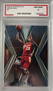 Lebron James 2005-06 Upper Deck SPx #15 GRADED 8 Card🔥🔥🔥