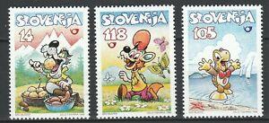 Slovenia 1998 Fairy Tales, Cartoons 3 MNH stamps