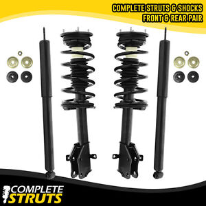 Full Set Shocks Struts Absorbers Kit Fit for 2007 2008 2009 Ford Edge,2007 2008 2009 Lincoln MKX 334644 334645 349068 AUTOMUTO Shock Struts Absorbers