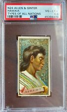 1889 N24 Allen & Ginter Types Of All Nations HAWAIA (HAWAII) PSA 4.5 VG-EX+