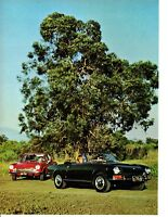 1968 FIAT 124 SPORT COUPE & SPIDER ~ ORIGINAL 8-PAGE ROAD TEST / ARTICLE / AD