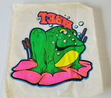 vintage 1974 Monarch Publ • Iron On Transfer full size • Ribet Frog art