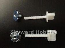 Nylon Wing Bolt with Blind Nut Set of 2    M4 x 30mm                   US Vendor