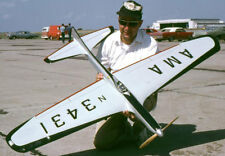 """Model Airplane Plans (UC): Jetco SHARK 45 58"""" Stunt for .35-.60 by Lew McFarland"""