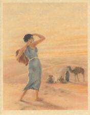 Edouard Chimot Modern Reprint - Roses des sables #16 - Ready to frame