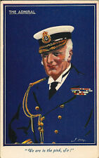 "NAVAL : THE ADMIRAL""We are in the pink,Sir! ""- J.ABBEY -NAVAL series"