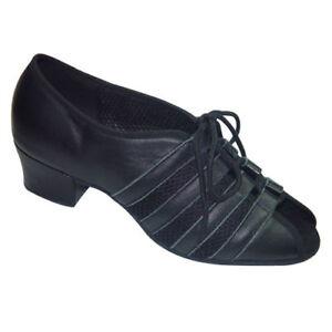 Ladies Dance Shoes Line Jive Tango Salsa UK Size 3 3.5 4 4.5 5 5.5 6 6.5 7 7.5 8