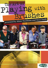 ART OF PLAYING WITH BRUSHES DRUM *NEW* 2 DVD SET DRUMS