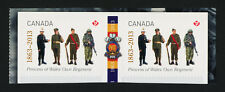 Canada 2635 Gutter pair MNH Military, Princess of Wales' Own Regiment