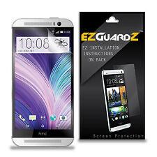 6X EZguardz LCD Screen Protector Shield Guard HD 6X For HTC ONE M8 (Ultra Clear)