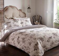 Nakuru Animal Wildlife Print Reversible Duvet/Quilt Cover Bedding Set Natural