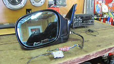 2001-2003 Infiniti QX4 Driver Door Mirror Driver Rear View blk left 01 02 03 lh