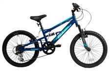 "Falcon Cobalt 20"" Kids Boys Mountain Bike Full Suspension Bicycle 6Spd 2019 Blue"