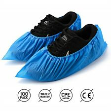 Shoe Covers Disposable -100 Pack(50 Pairs) Disposable Shoe & Boot Covers UK