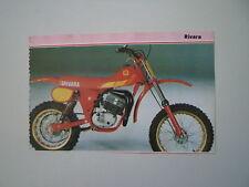 - RITAGLIO DI GIORNALE ANNO 1982 - MOTO RIVARA CANGURINO CROSS SPECIAL 50
