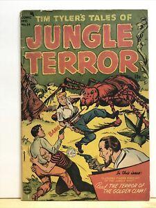 Comic Hits 54 Tim Tyler Jungle Terror Harvey Horror Poor 1951 Giant Spider