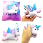 12CM Kawaii Unicorn Squishy Jumbo Slow Rising Cartoon Collectibles Soft Squeeze
