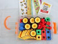 ETI Toys STEM Learning Original 101 Pc Educational Construction Engineering set