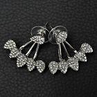 1Pair Women Sexy Fashion Jewelry Lady Elegant Pearl Rhinestone Ear Stud Earrings