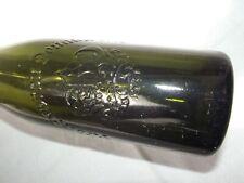 Old Beer Bottle Der Kronenbrauerei Donauwörth Swabia
