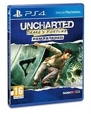 Ps4 Uncharted Drakes Fortune Remastered PlayStation 4