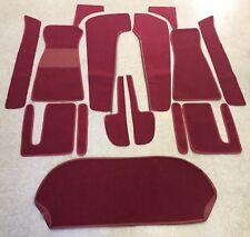 Opel Vivaro vorn ab 2001 100/% passform Fussmatten Autoteppiche Silber Rot Blau