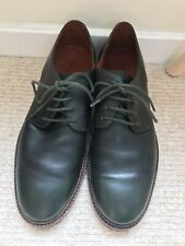 COS Smooth Leather Rare Black / Green Ladies Men's Women's Shoes 8 42 Brogue