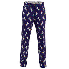 Stallion Strides Golf Trousers By Royal & Awesome Funky Loud Golf Pants Curling