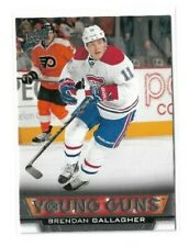 2013-14 UPPER DECK #477 BRENDAN GALLAGHER YG RC UD YOUNG GUNS ROOKIE CANADIENS