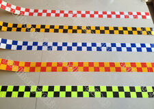 3-10M Square Safety Reflective Self adhesive Hazard Caution Warning Tape Sticker