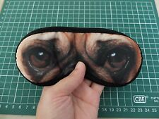 New Chinese PUG EYES Dog Puppy Lovers Small-Med Size Black SLEEP MASK Gift