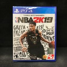 NBA 2K19 (PS4 PlayStation 4) BRAND NEW  / Region Free