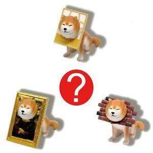 Japanese Blind Box Weird Funny Gift Shiba Inu Wall Dog Meme Figure 1 Random Toy