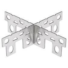 Outdoor Camping Pocket Alcohol Stove Rack Stainless Cross Stand Rack New X2O1