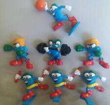 1995 Vintage Lot Of 7 Acog  Olympic Mascot Izzy Figures Sports