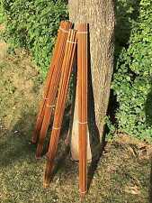 """100pcs NewTonkin Bamboo arrow shaft  handmade 65-70# 33""""(84cm)long only shafts"""