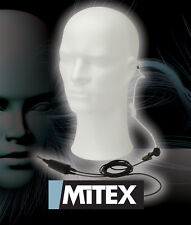 MITEX 2 WIRE ACOUSTIC TUBE EARPIECE WITH MIC/PTT - FOR ALL MITEX TWO WAY RADIOS