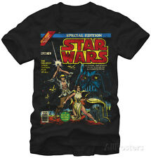 Star Wars- Special Edition Comic Cover T-Shirt L - Black