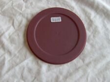 TUPPERWARE ROUND LID SEAL # 3448 Maroon/ Burgundy Will fit Premier Acrylic Bowl