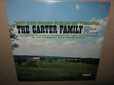 The CARTER FAMILY 'Mid Green Fields of Virginia FACTORY SEALED LP 1975 ANL1-1107