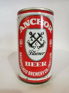 ANCHOR BEER STEEL PULL TAB BEER CAN OCOC SINGAPORE