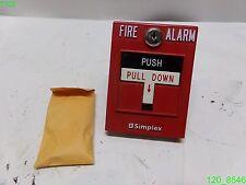 SIMPLEX 2099-9756 FIRE ALARM PULL STATION ASSY 0630562 - NEW