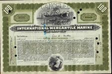 International Mercantile Marine 1926 (Titanic Own) iss to Gus Miller