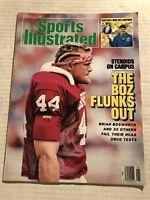 1987 Sports Illustrated OKLAHOMA Sooners BRIAN BOSWORTH No Label FAILS Test BOZ