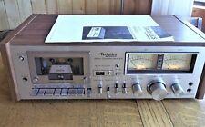 New ListingVintage Technics (Panasonic) Rs-631 Tape Deck, Manual, Serviced Nice! Look