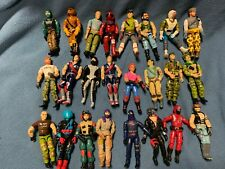 ( 24 ) VINTAGE 1980's G.I. JOE ALL AMERICAN HERO -EXC COND. LOT C