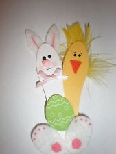 Easter Bunny and duck combo  spoon pin