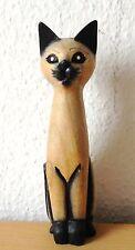 Katze  Natur  Cartoon Holz  Dekoration  Soar-Holz    Tier  H = 20 cm