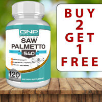 Saw Palmetto - 120 Capsules - Prostate Health - Mens Health tablets pills powder