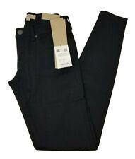 Burberry Preta Calça Skinny, cintura baixa, tamanho 26